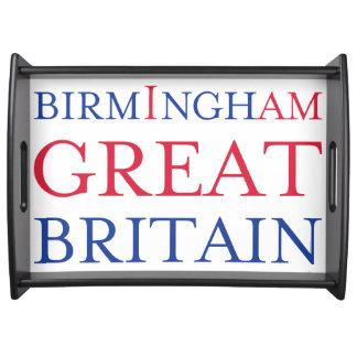 Birmingham Great Britain Serving Tray