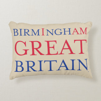 Birmingham Great Britain Throw Pillow