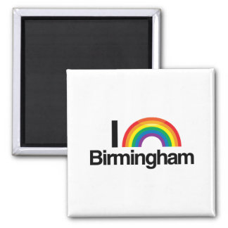 BIRMINGHAM - I LOVE PRIDE -.png Square Magnet