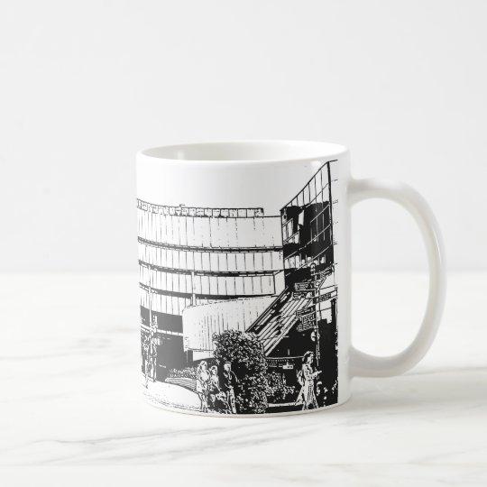 Birmingham Old Library, Brutalist Architecture Coffee Mug