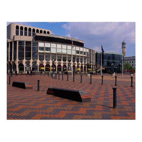 Birmingham Repertory Theatre, Birmingham, England, Postcard
