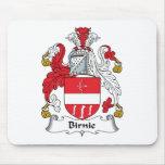 Birnie Family Crest Mouse Pads