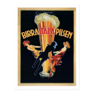 Birra Itala Pilsen Postcard