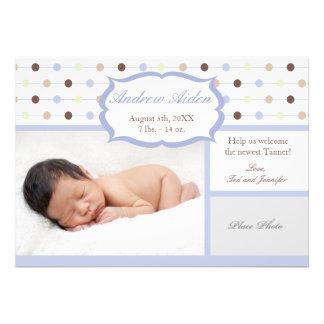 Birth Announcement Baby Boy