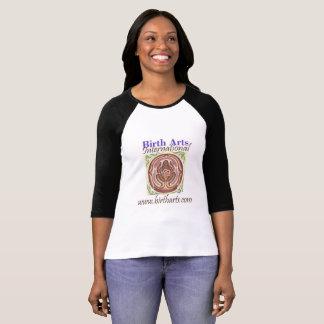 Birth Arts International Ringer T! T-Shirt