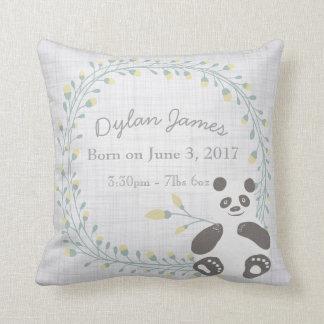 Birth Baby Pillow Panda Boy Girl Nursery