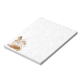 """""""Birth Of A Dragon"""" - Faux Copper Notepad"""