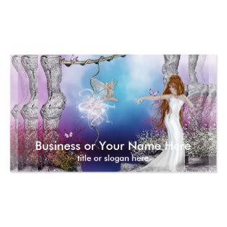 Birth of a Fairy Fantasy Elf Business Cards