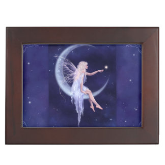 Birth of a Star Moon Fairy Premium Keepsake Box