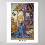 Birth Of Christ By Stefan Lochner Poster