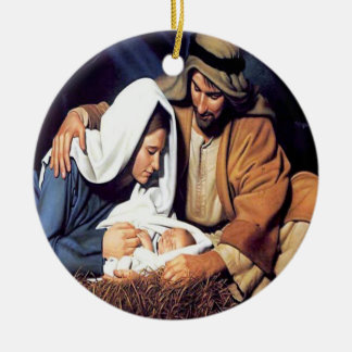 Birth of Jesus Christmas Ornament
