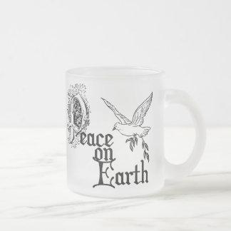 Birth of Jesus Frosted Glass Mug