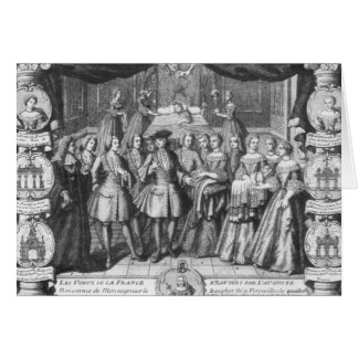 Birth of Louis, Dauphin of France Card