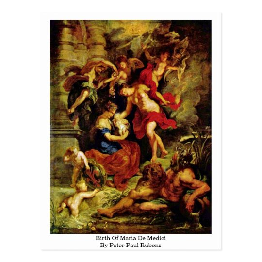 Birth Of Maria De' Medici By Peter Paul