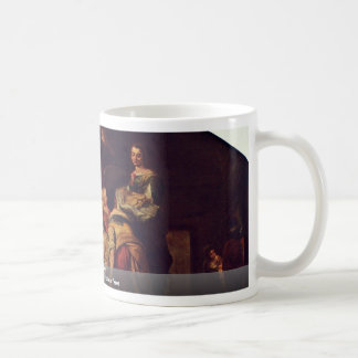 Birth Of Mary By Murillo Bartolomé Esteban Perez Coffee Mug
