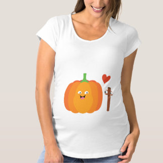 Birth Of Pumpkin Spice Funny Fall Maternity Shirt