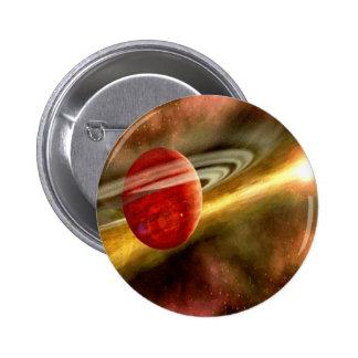 Birth of Saturn Pinback Button