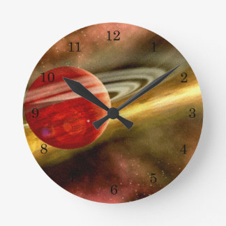 Birth of Saturn Clock