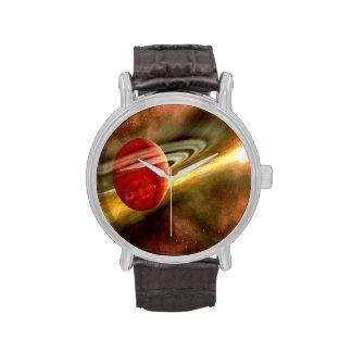 Birth of  Saturn Wristwatch