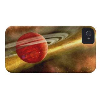 Birth of Saturn iPhone 4 Case