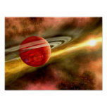 Birth of Saturn Poster