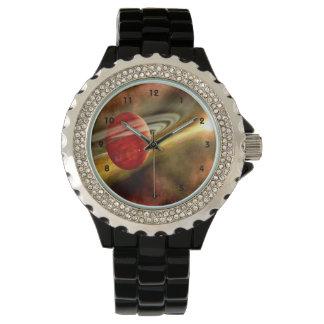 Birth of Saturn with clockface Watch