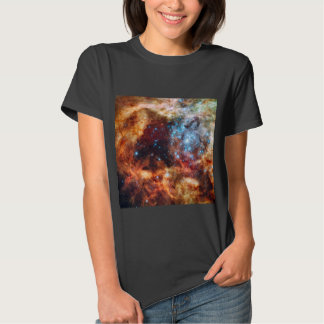 Birth of Stars Cosmic Creation Blue Star Cluster T-shirt