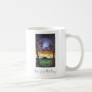 Birth of the Red Dragon Basic White Mug