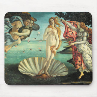 Birth of Venus, 1485 Mouse Mat