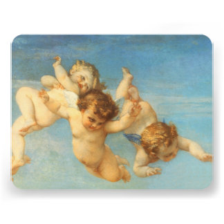 Birth of Venus, Angels detail by Cabanel Custom Invites