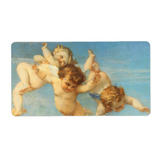 Birth of Venus, Angels detail by Cabanel Shipping Label