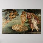 Birth of Venus by Botticelli Poster