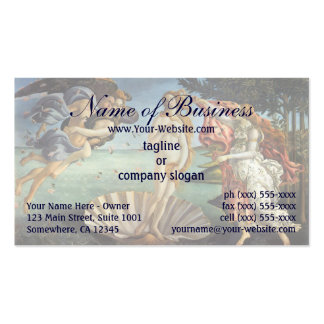 Birth of Venus by Sandro Botticelli Double-Sided Standard Business Cards (Pack Of 100)