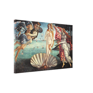 Birth of Venus by Sandro Botticelli Canvas Print