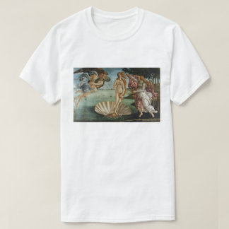 Birth of Venus by Sandro Botticelli T-Shirt