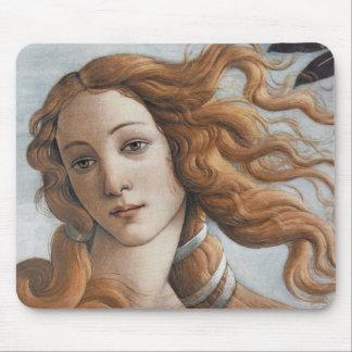 Birth of Venus close up head Mouse Mat