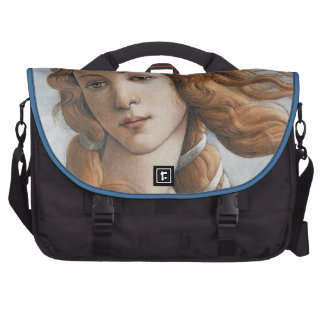 Birth of Venus close up in detail Laptop Bag