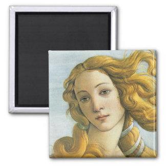 Birth of Venus Renaissance Fine Vintage Square Magnet