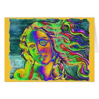Birth of Venus Rough Edge Card