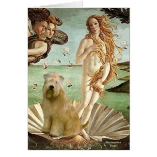 Birth of Venus - Wheaten Terrier 10 Card