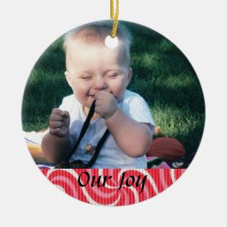 Birth or Adoption Keepsake Christmas Ornament
