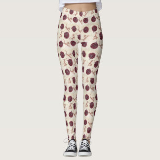 BIRTH placenta leggings - midwife, doula, unique