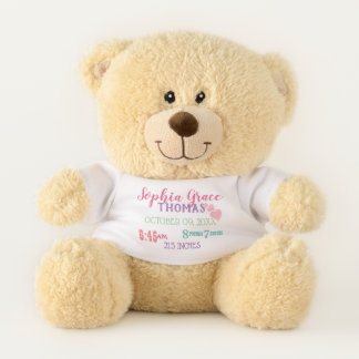 Birth Stats New Baby Bear