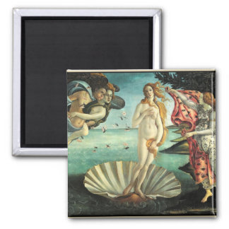 Birth Venus Botticelli Square Magnet