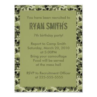 Birthday 11 Cm X 14 Cm Invitation Card