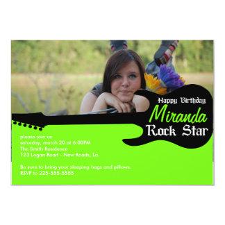 Birthday 13 Cm X 18 Cm Invitation Card