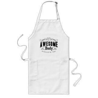 Birthday 1940 Awesome Body Long Apron