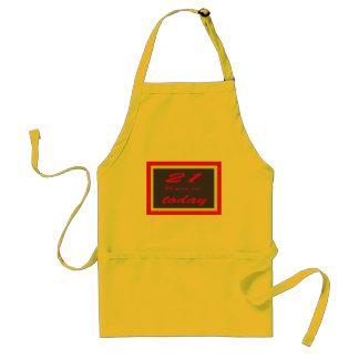 birthday 65th standard apron