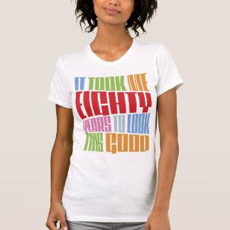 Birthday 80 tee shirts