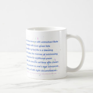 Birthday (Acrostic) Basic White Mug